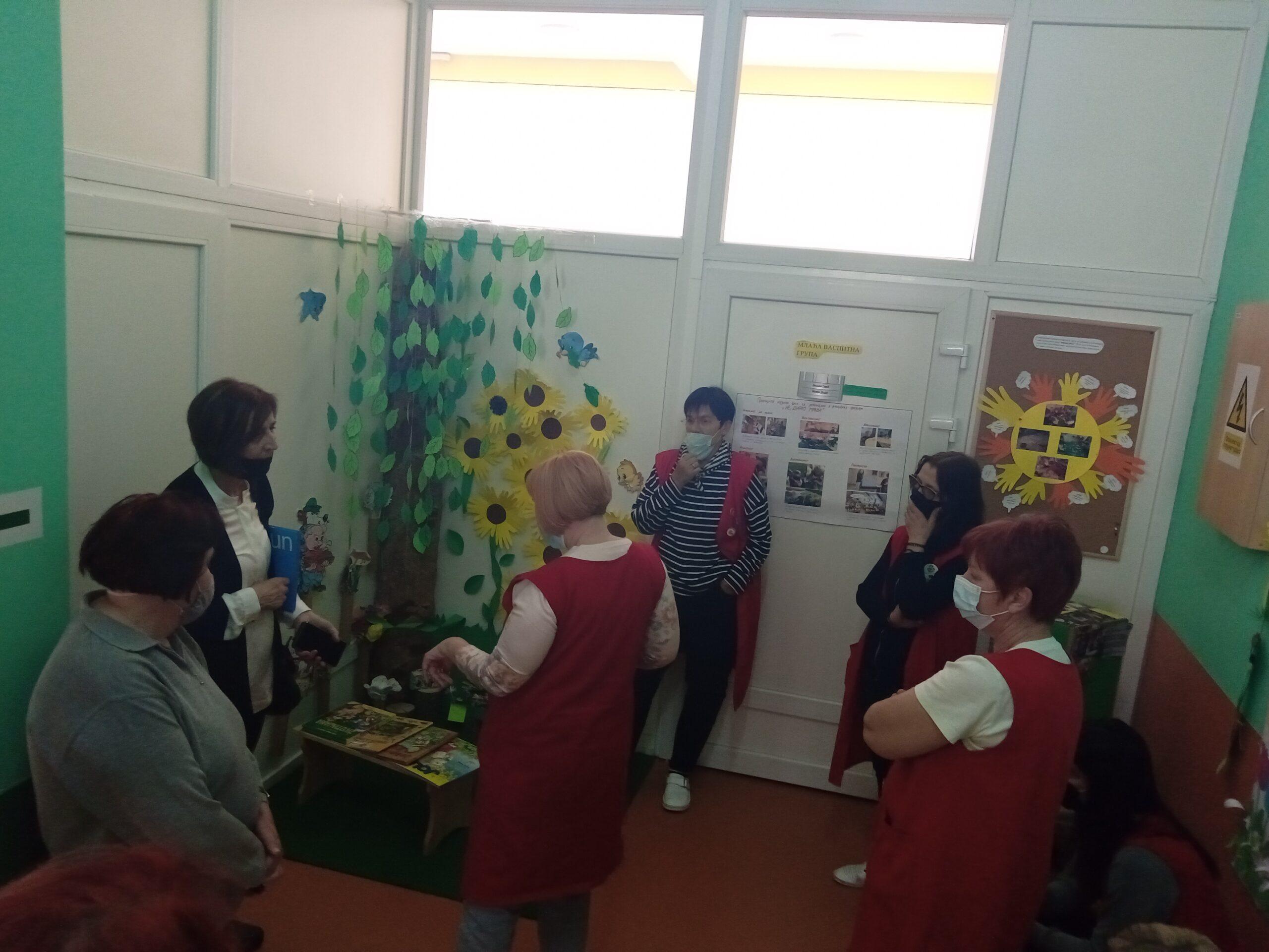 Посета ментора за имплементацију Нових основа предшколског програма